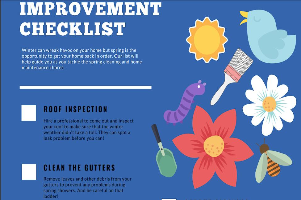 Spring Chores Checklist to Print