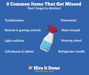 8 common items you should clean